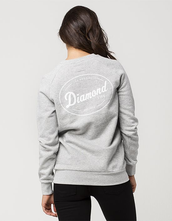 DIAMOND SUPPLY CO. Logo Womens Sweatshirt