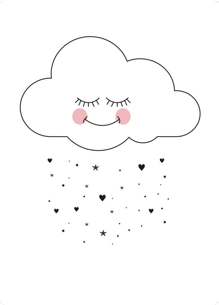 EEF Lillemor Postcard *Sweet Cloud*