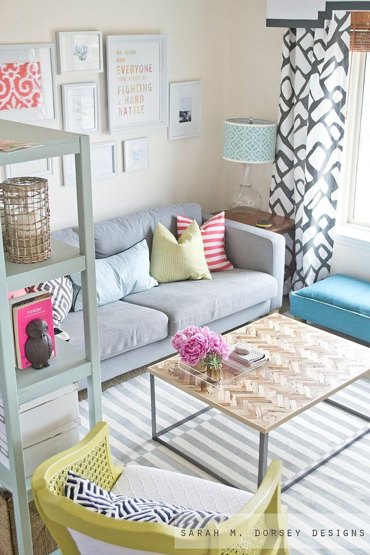 Patterns and fabrics make this small space call out to you to relax and unwind. < PreviousNext >