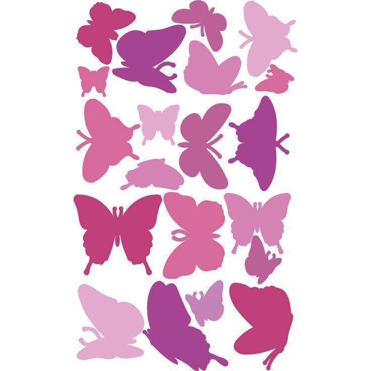 Duvar Stickerı - Kelebekler #duvarsticker #dekorasyon #dekoratif #çocukodası #wallsticker #sticker #kidsroom #roomdecoration #walldecoration #duvardekorasyonu