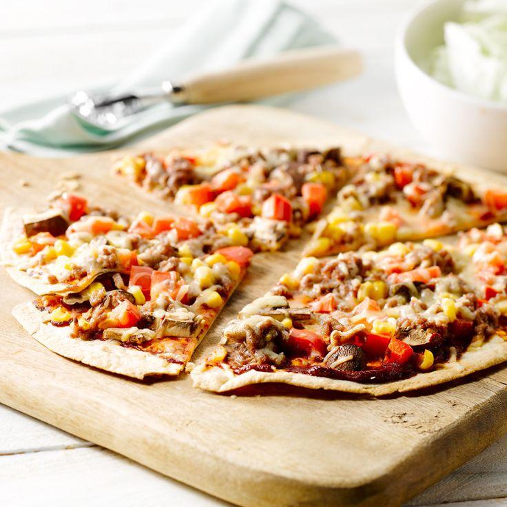 Makkelijke pizzawraps Recept | Weight Watchers Nederland