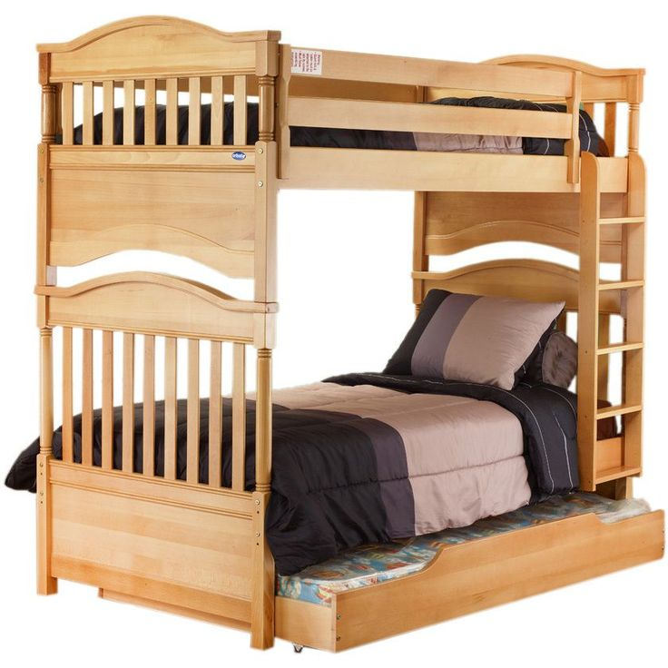 Best 25 contemporary bunk beds ideas on pinterest bunk for Unfinished loft bed