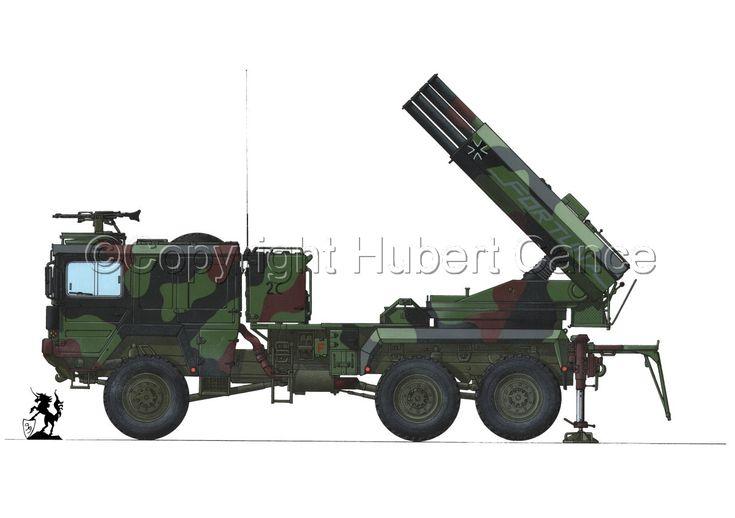 Raketenwerfer 110 мм-ауф-Selbstfahrlafette 2