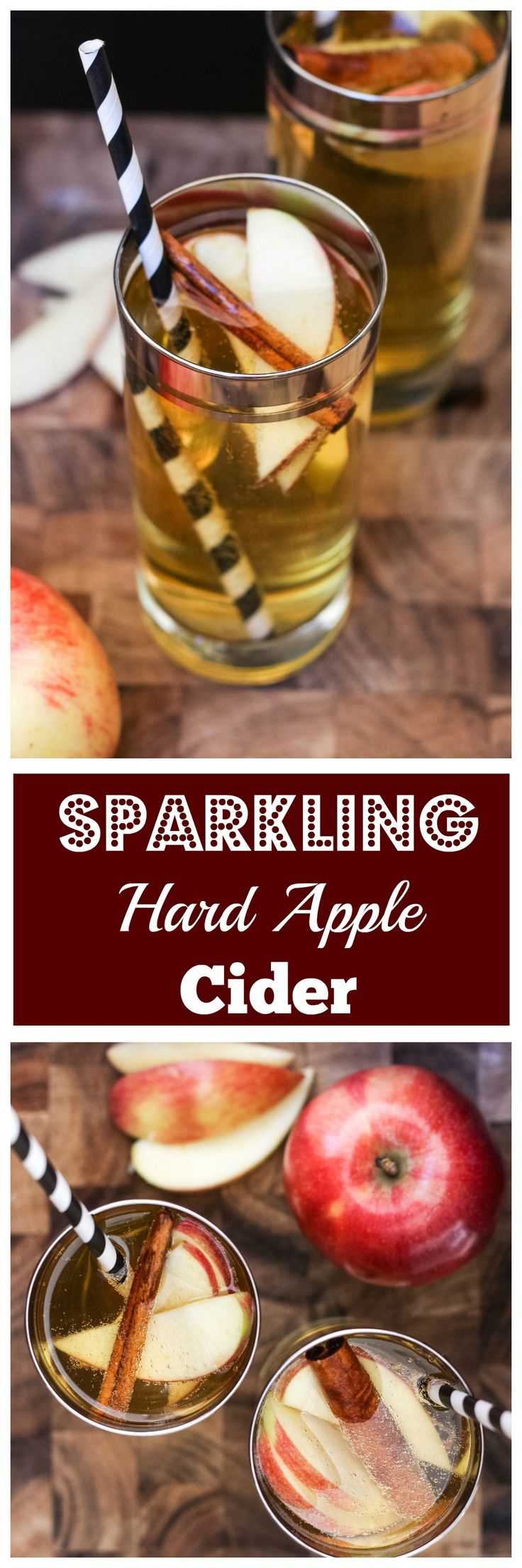 Sparkling Hard Apple Cider - Grown Up Martinellis!