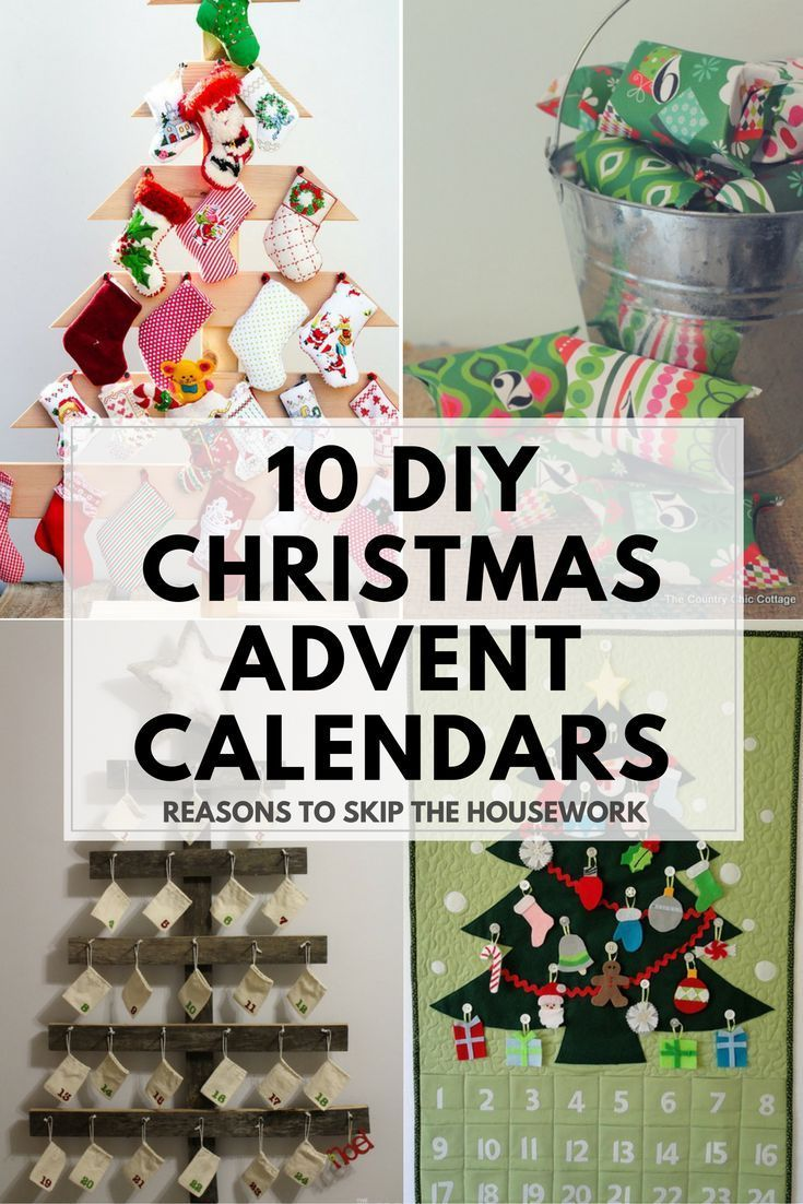 Diy Advent Calendars To Help Count Down To Christmas Diy Advent Calendar Christmas Diy Advent Calendar