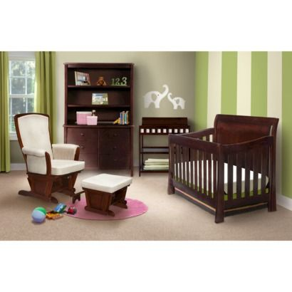 Simmons Madisson Nursery Furniture Collection Espresso