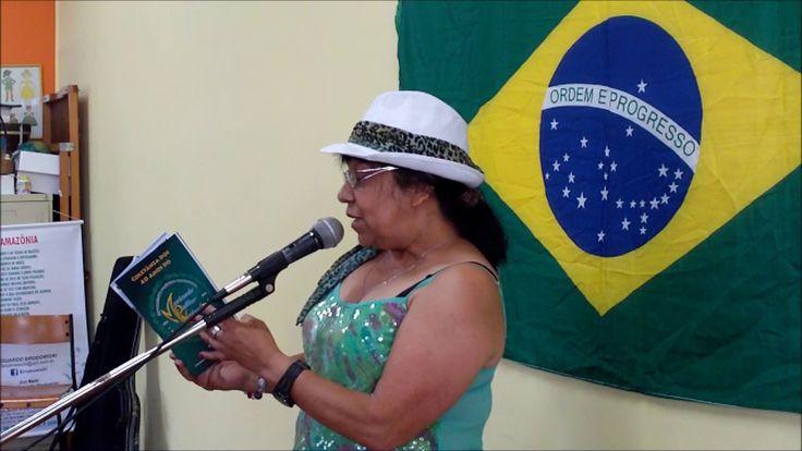 (2) Vilma de Fátima a declamar no Café com Poesia - 88º Edição - 26-11-2016