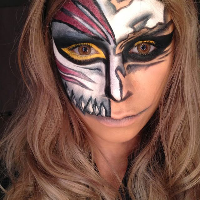 maquillage halloween ichigo