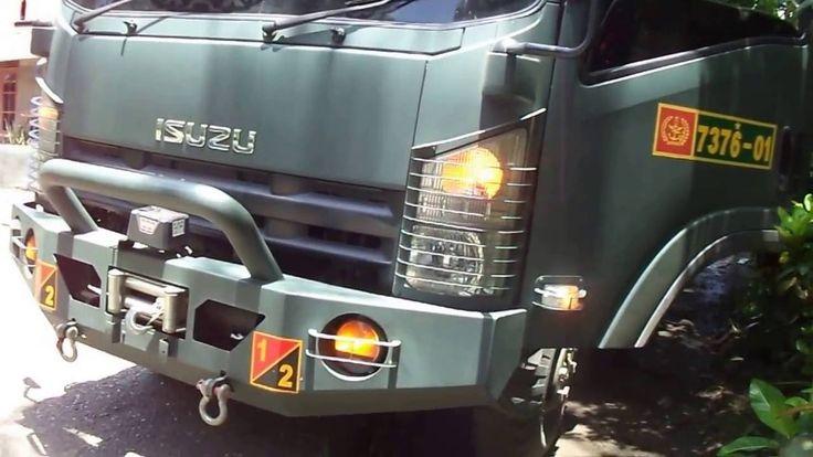 Melihat Lebih Dekat Truck Isuzu NPS