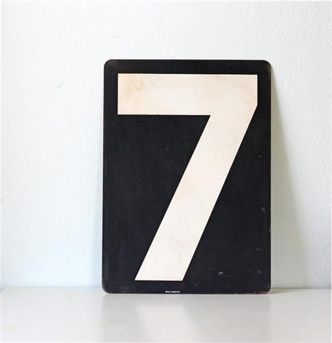7Large Numbers, Signs, Envelopes, Appliances, Lucky Numbers, Graphics, Tables Numbers, Births, Heavens