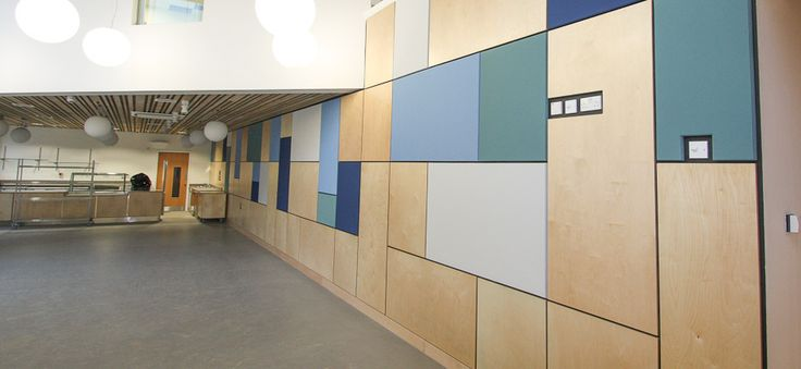 FabricWall Acoustic Panels, Brighton University