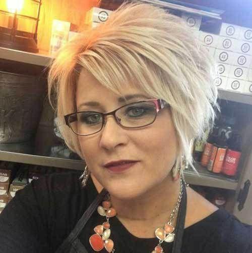 Kurze Frisuren für ältere Frauen 2018-2019 – Madame Friisuren | Madame Frisure…