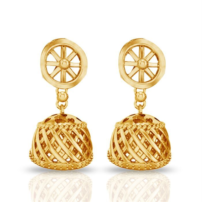 #Buy Gold Jhumkas #Gold Jhumkas price in India #Gold Jhumkas price #Gold Jhumkas #price of Gold Jhumkas #Gold Jhumkas India #Gold Jhumkas review #22k gold earrings online #Diwali gift ideas #Diwali in india #Jacknjewel.com