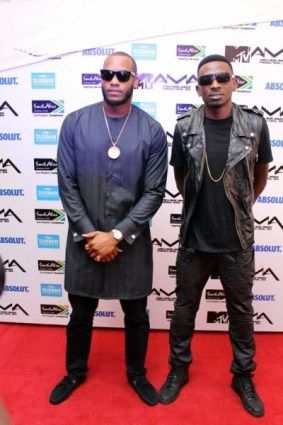 Lynxxx and Mr May-D MAMA 2014  If you didn't get to see the MTV Africa Music Awards 2014 check it out on #www.supastarztv.com>>