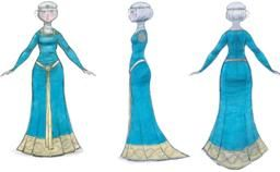 BRAVE dress