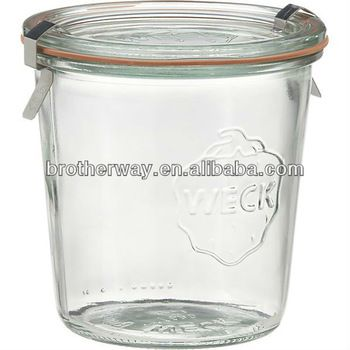 Weck Glass Canning Jar - for soups, stews, yogurt, salads? smaller wide mouth one for butter, mayo, parm etc.