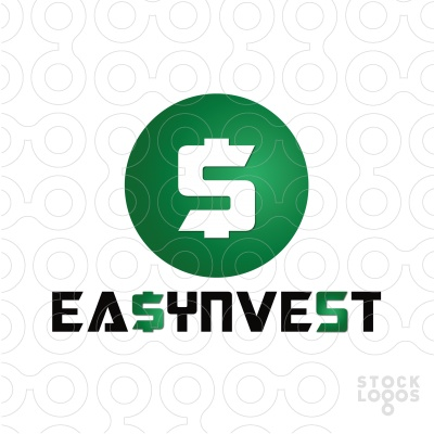EASYNVEST - Unique and Brilliant Logo, Perfect for Financial Affairs. - Name, Colors and Fonts can be changed for FREE to suit your business/company after purchase. The price is negotiable.[$345]