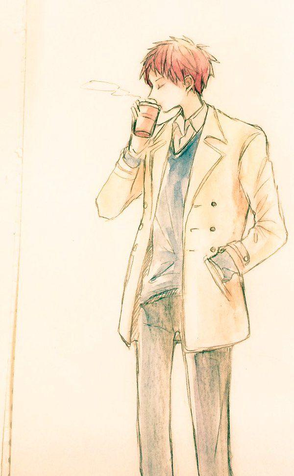 Akashi Seijūrō 赤司 征十郎 | Rakuzan Kōkō | Kuroko no Basket | あちっ
