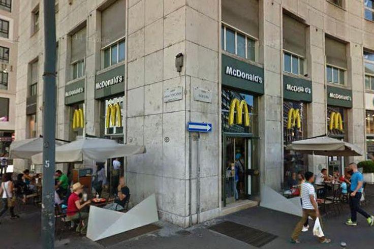 Mc Donald's in San Babila