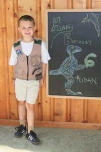 (A)'s Dino-Mite 6th Birthday! boys birthday, dinosaur birthday, birthday parties