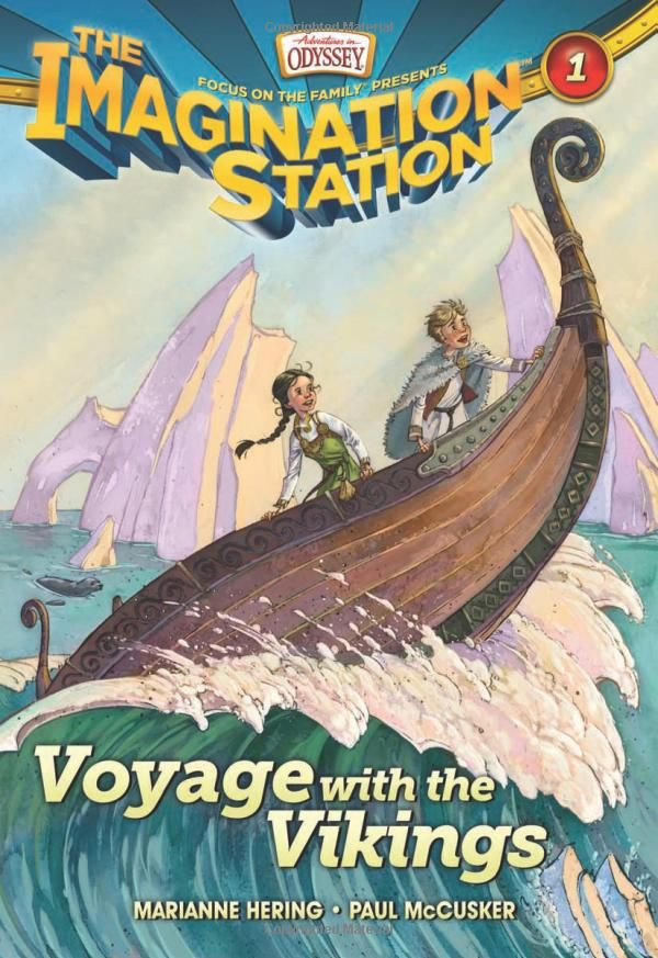 Voyage with the Vikings (AIO Imagination Station Books): Marianne Hering, Paul McCusker: 9781589976276: Amazon.com: Books