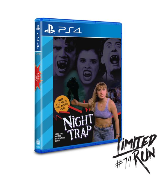 Night Trap and The Bunker on sale today! #Playstation4 #PS4 #Sony #videogames #playstation #gamer #games #gaming