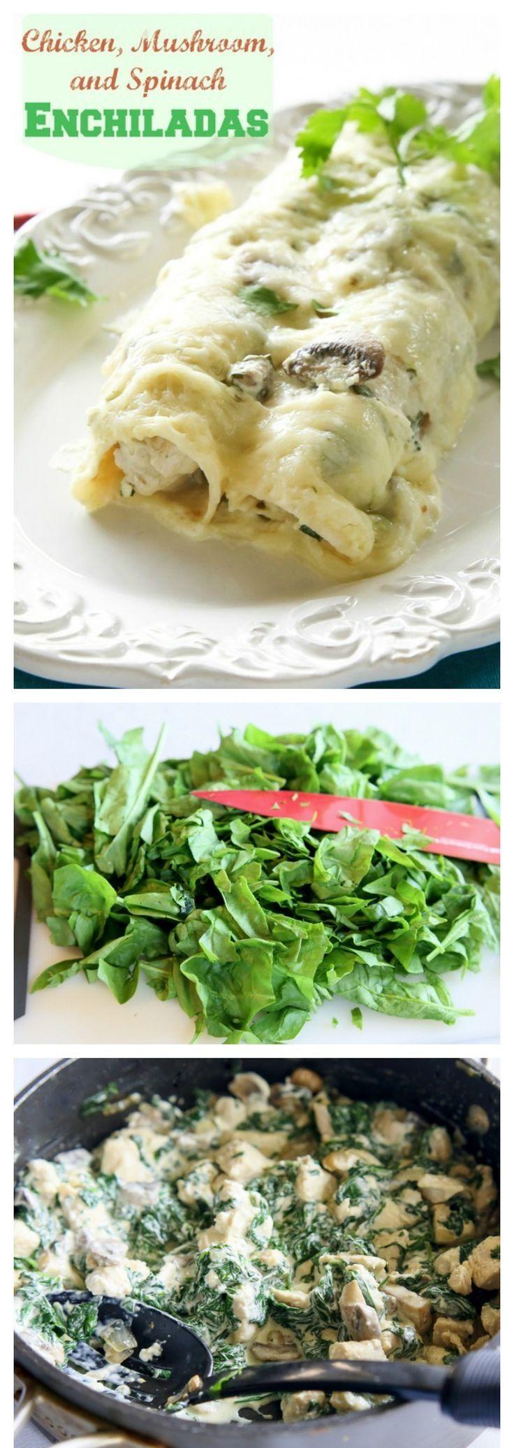25+ best ideas about Spinach enchiladas on Pinterest ...