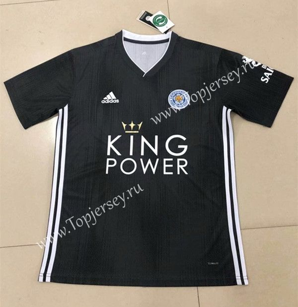 2019 2020 Leicester City Away Black Thailand Soccer Jersey Aaa 809 Soccer Jersey Leicester City Football Sweater