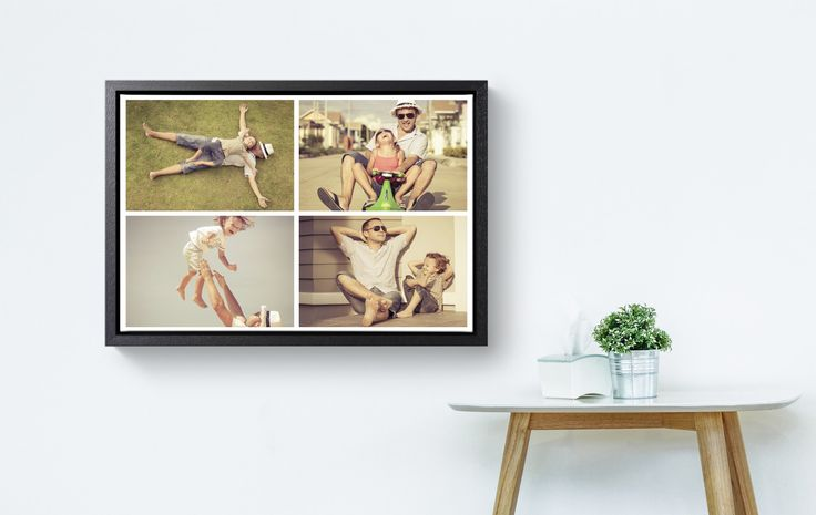3 great tips and ideas for your photo collage on canvas!