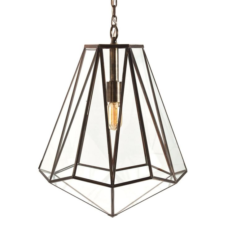 via BKLYN contessa :: Arteriors Edmond Hexagon Pendant