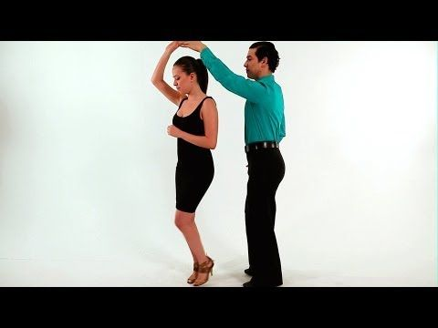 Merengue Dance Steps: Both Turn | How to Dance Merengue - YouTube