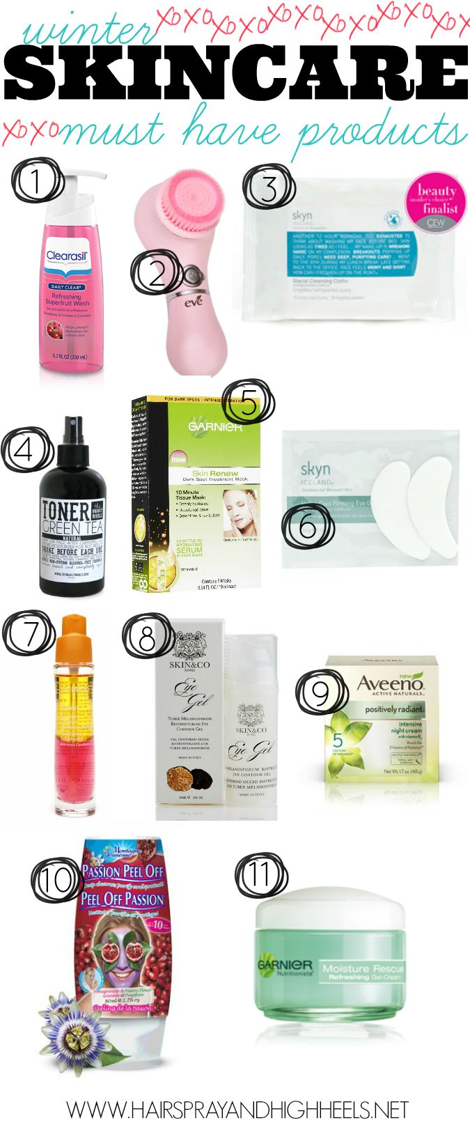 Winter Skincare Must Have Products via www.hairsprayandhighheels.com #skincare #winterskincare #beauty