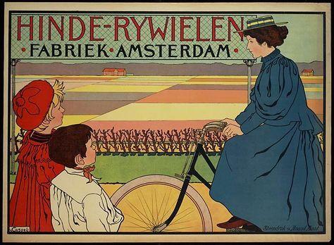Hinde bicycles ~ Johann Georg van Caspel
