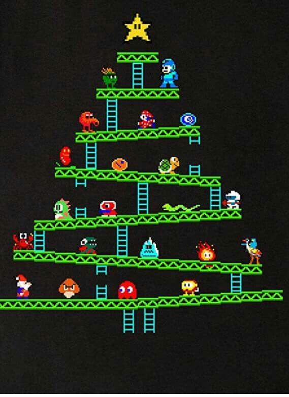 Retro gaming Christmas Maybe something for https://Addgeeks.com ?