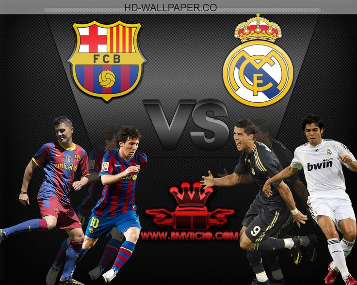 FC BARCELONA vs REAL MADRID EL CLASICO by CrazyyB on