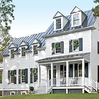 Notice the details sleek roof 10 ways to add cottage for Cottage charm farmhouse