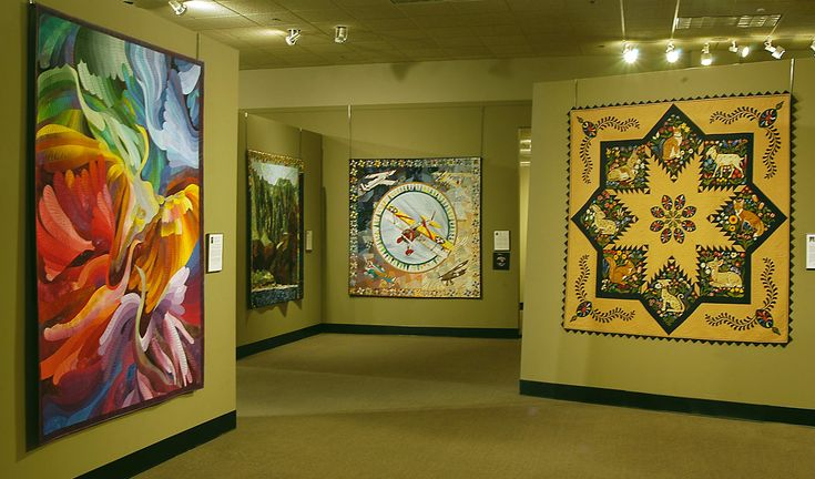 The National Quilting Museum, Paducah, Kentucky. Quilt lovers around the world make a pilgrimage.