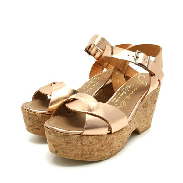 GAIMO SS14 Cereza Wedge Sandals | Spanish Fashion - SPANISH SHOP ONLINE | Spain @ your fingertips