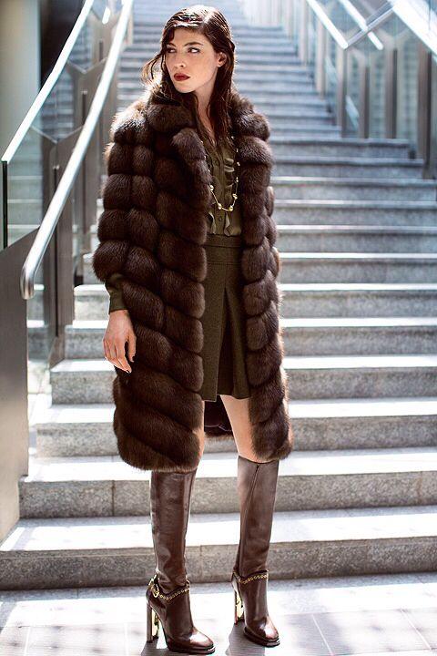 Russian Barguzin Sable Fur Coat Russian / меха с аукционов
