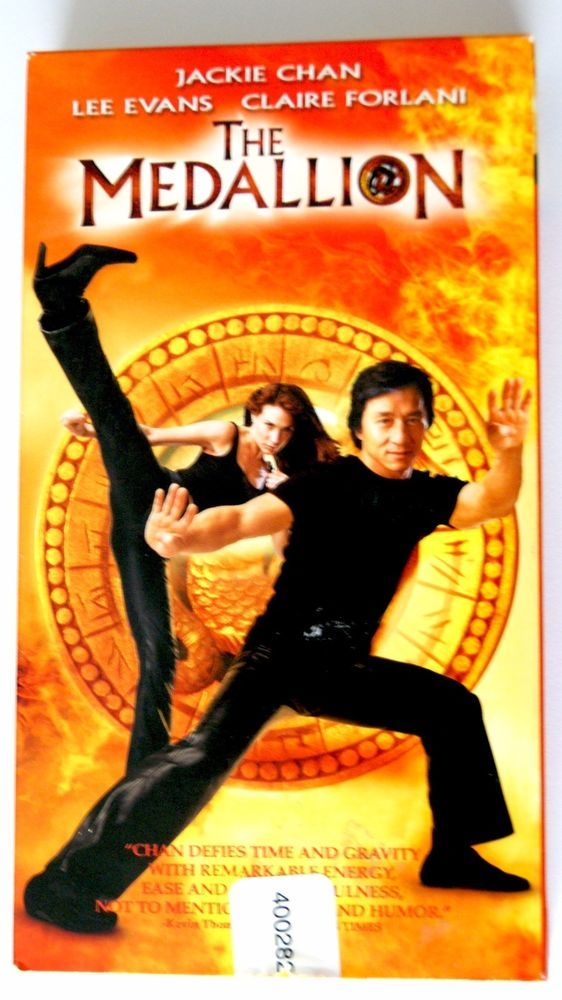 The Medallion (VHS) JACKIE CHAN - LEE EVANS - CLAIRE FORLANI