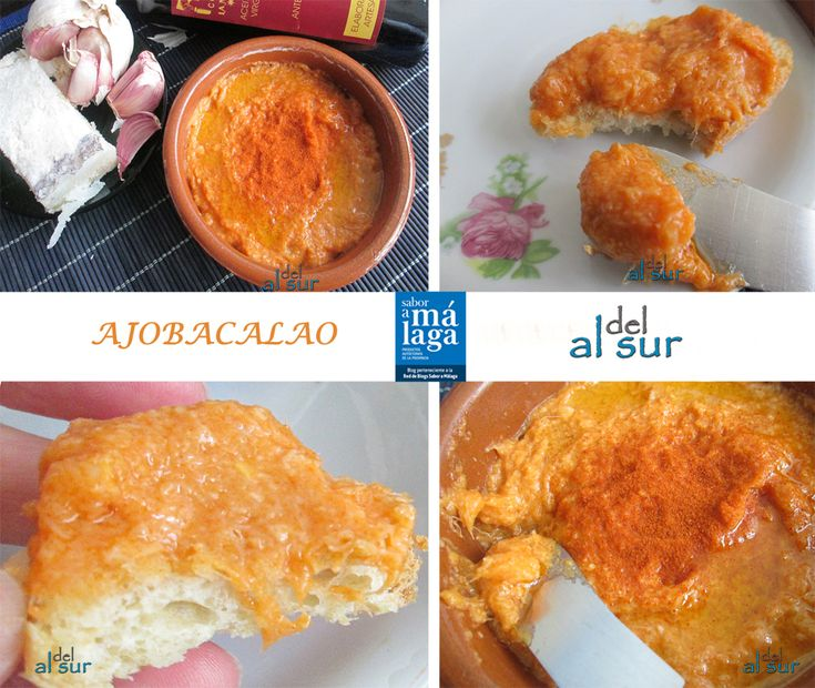 La cocina malagueña-Alsurdelsur: Ajobacalao