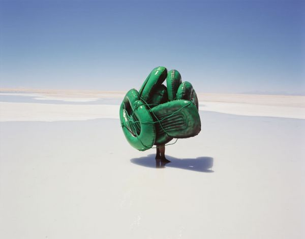 Scarlett Hooft Graafland - Seven Steps to Overlapping Beauty, #1, 2004 || Salt Works, Bolivia