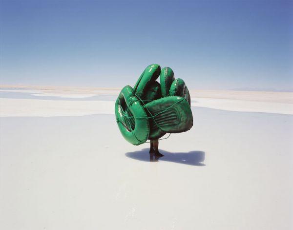 Scarlett Hooft Graafland - Seven Steps to Overlapping Beauty, #1, 2004 || Salt Works, Bolivia