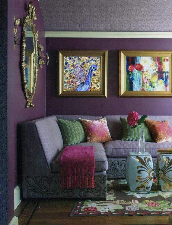 25+ best Purple living rooms ideas on Pinterest | Purple ...