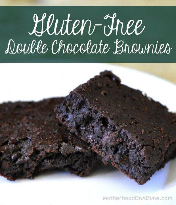 Gluten-Free Double Chocolate Brownies | Baking Recipes to Try Soon ...