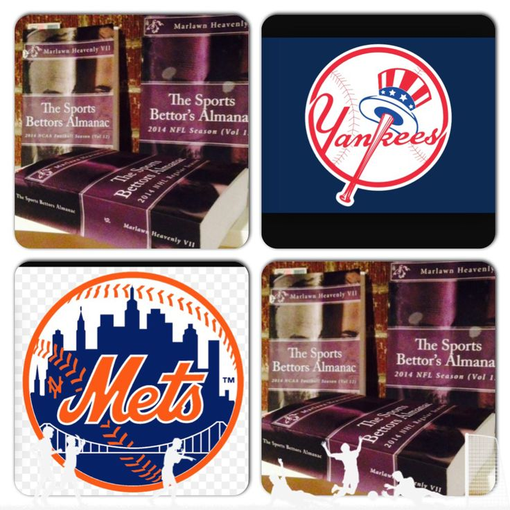 "4/24/15 MLB Sports Bettors Almanac Update: #NewYork #Yankees vs #NewYork  #Mets (Take: Yankees -133,Over 7 Runs) (THIS IS NOT A SPECIAL PICK ) ""The Sports Bettors Almanac"" SPORTS BETTING ADVICE  On  95% of regular season games ATS including Over/Under   1.) ""The Sports Bettors Almanac"" available at www.Amazon.com  2.) Check for updates   Marlawn Heavenly VII ( SportyNerd@ymail.com )  #NFL #MLB #NHL #NBA #NCAAB #NCAAF #LasVegas #Football #Basketball #Baseball #Hockey #SBA #Boxing #Business…"