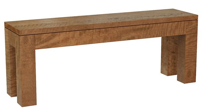 New York Bench in Mango Wood