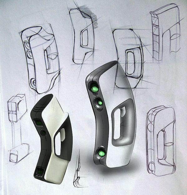 3D scanner EVA on Industrial Design Served