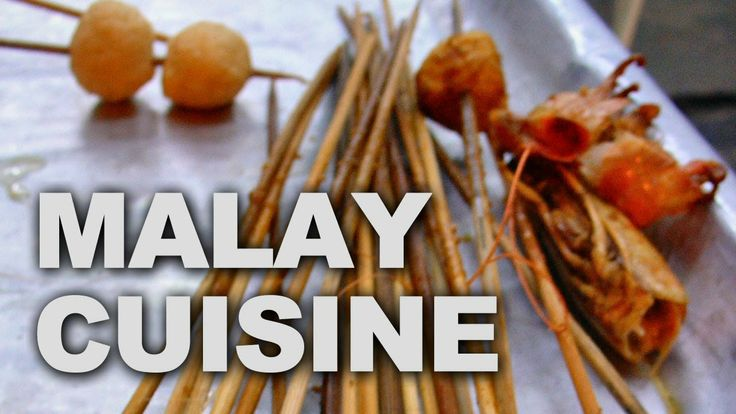 Malaysia's cuisine reflects the multi-ethnic makeup of its population. Many cultures from within the country and from surrounding regions have greatly influenced the cuisine.