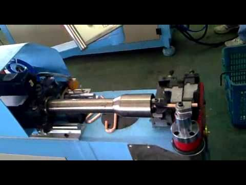 Cnc copper tube bending machine.wmv - YouTube